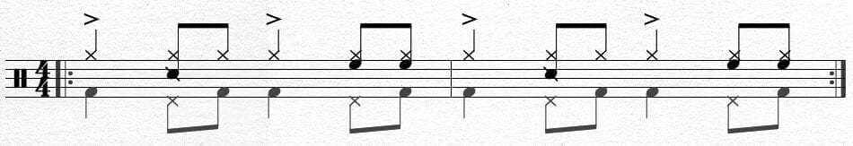 Brazilian Samba Bass Pattern