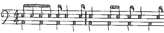 Reed Syncopation Original Exercise