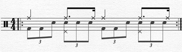 Bass Drum Chapin Advanced Techniques Exercise 4