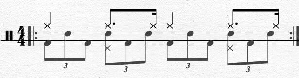 Bass Drum Chapin Advanced Techniques Exercise 6