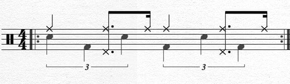 Bass Drum Chapin Advanced Techniques Exercise 8