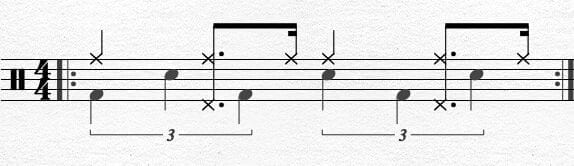 Bass Drum Chapin Advanced Techniques Exercise 9