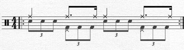 Bass Drum Chapin Advanced Techniques Exercise 1