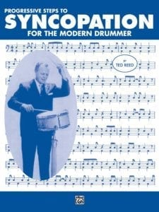 Ted Reed Syncopation for the Modern Drummer Cover