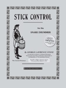 Stone Stick Control for the Snare Drummer Cover